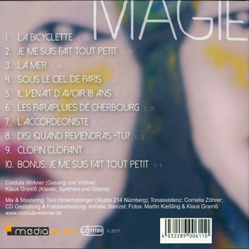 Back Cover: Magie!
