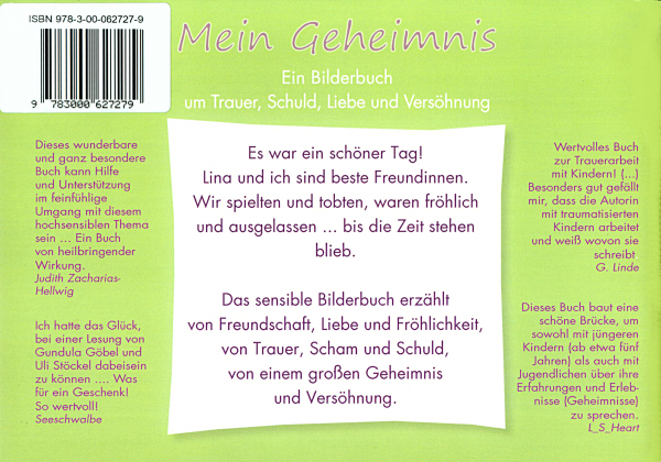 Back Cover: Mein Geheimnis