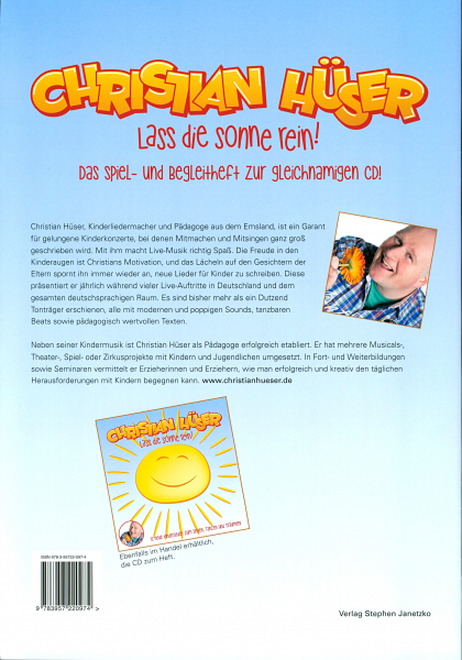 Back Cover: Lass die Sonne rein!