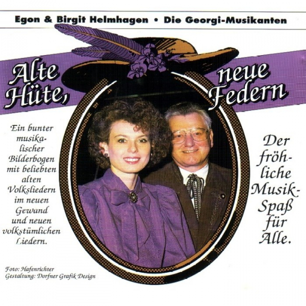 Front cover: Alte Hüte, neue Federn