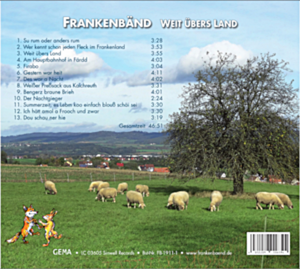 Back Cover: Weit übers Land