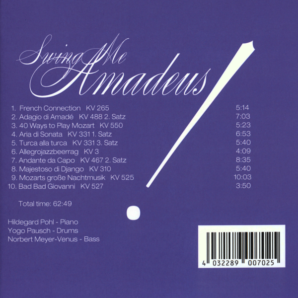 Back Cover: Swing Me Amadeus!